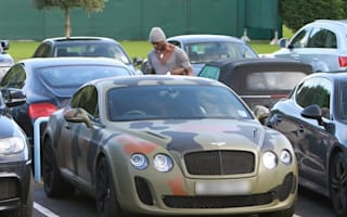 Now you see it - Mario Barlotelli's camouflaged Bentley