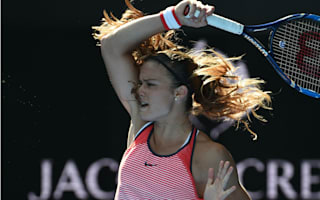 Sakkari delighted to oust struggling Schmiedlova