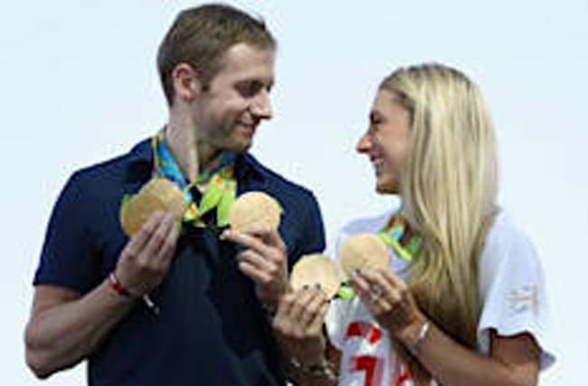 Private wedding for Olympians Laura Trott and Jason Kenny