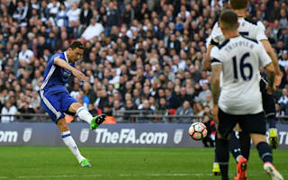 Double vision for Chelsea as super Spurs are slain