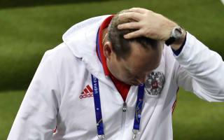 Russia coach Slutsky hints at departure after Euro 2016 exit