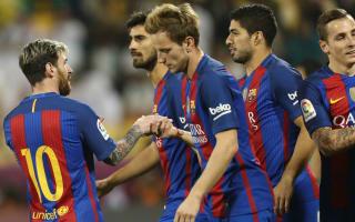 Al Ahli 3 Barcelona 5: Alcacer finally scores