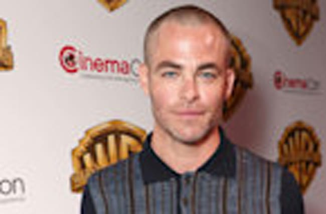 EXCLUSIVE: Chris Pine Says He Buzzed His Hair Off Out of 'Sheer Boredom'