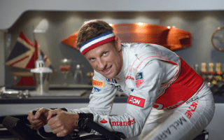 Is this Jenson Button's most cringeworthy ad yet?