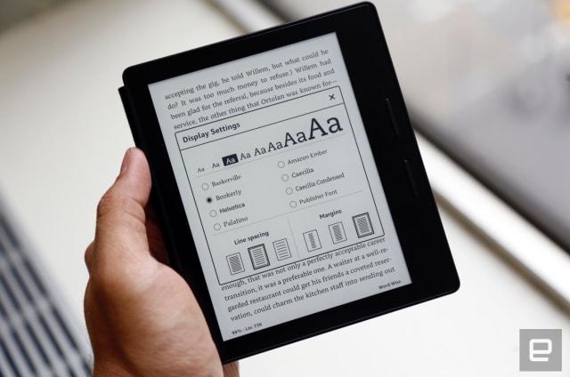 Kindle Oasis: el e-reader más moderno, delgado y caro de Amazon hasta la fecha