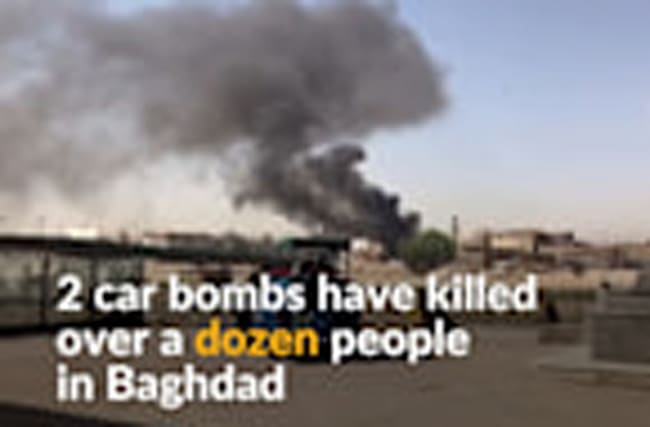 Car bombs kill at least 20 in Baghdad