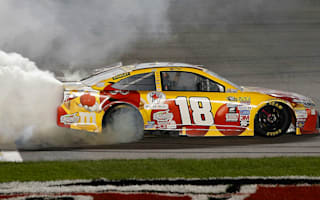 Kyle Busch wins the GoBowling 400
