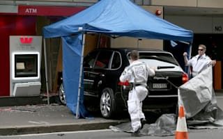 Armed robbers use Porsche Cayenne as battering ram