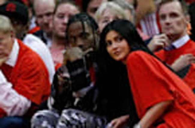 Kylie Jenner Goes PUBLIC With Travis Scott At NBA Game