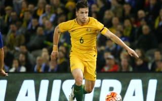 Degenek replaced by Giannou for Socceroos