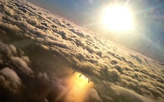 The best ever photo taken from a plane window?
