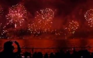 100 injured as fireworks explode in crowd during display in China