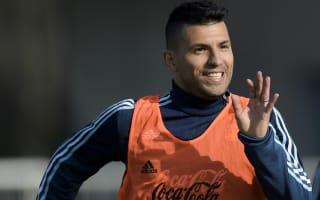 Argentina v Venezuela: Aguero not fussed over bench role