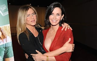 Courteney Cox rallies to defence of Jennifer Aniston over Brad Pitt drama