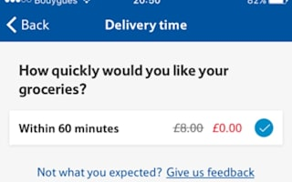 Leaked: the secret way to get free one-hour delivery from Tesco