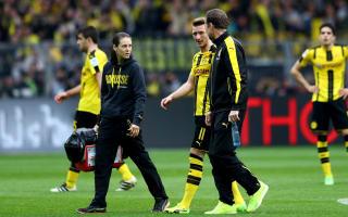 Dortmund without Reus until early April