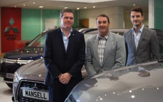 ​F1 legend Nigel Mansell to open Mitsubishi dealership
