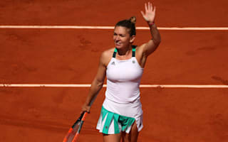 Halep in a hurry, leaves Suarez Navarro no chance