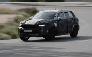 Volvo's new small XC40 SUV spotted testing ahead of the Frankfurt Motor Show