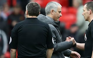 Mourinho not blaming referee for controversial draw