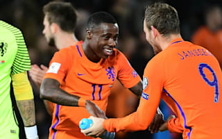 Promes hails much-needed Netherlands win over Belarus