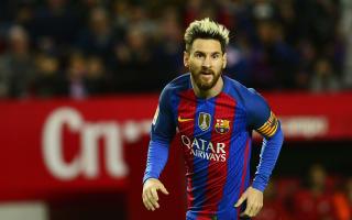 Sergi Roberto and Denis Suarez in awe of 'incredible' Messi