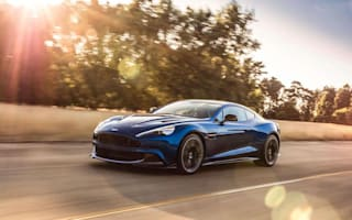 This is the new 600bhp Aston Martin Vanquish S