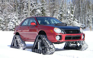 For sale: Subaru Impreza with ultimate winter tyre package