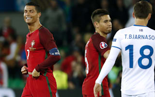 Santos defends Ronaldo reaction