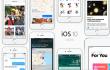 iOS 10 se hace oficial: estas son sus prestaciones
