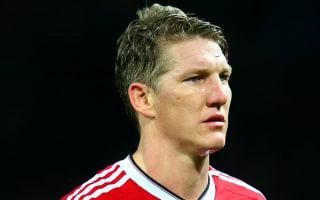 Van Gaal admits 'expectation is not so good' for injured Schweinsteiger