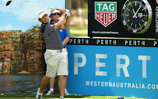 Oosthuizen eager to build Masters momentum in Perth