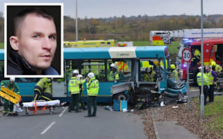 Drunk motorist jailed for careering into bus at 84mph