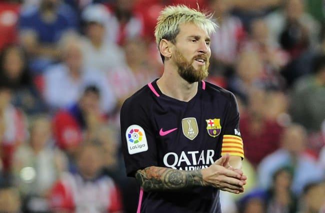 Barcelona reveal Messi hamstring injury