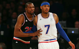 Anthony: I know Durant is not worried about free agency