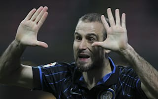 Inter Milan v Sassuolo: Palacio surprised to be top of the pile