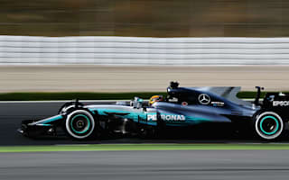 Hamilton quickest on day one of F1 testing