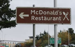 Plymouth puts up tourist attraction sign for McDonald's