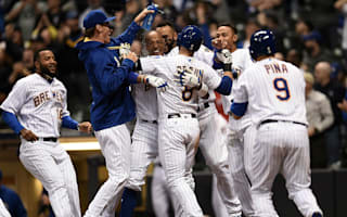 Brewers beat Cubs in extra innings, Rays outlast Blue Jays