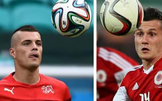 Albania v Switzerland: Xhaka brothers set to make history