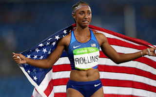 Olympic champion Rollins banned for anti-doping violation