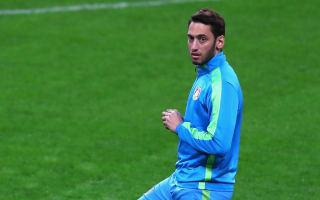 Calhanoglu open to Leverkusen exit, says agent