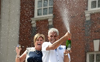 Couple return from holiday to £5.8m lottery win