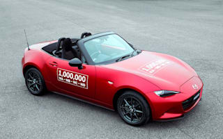 Mazda produce one-millionth MX-5