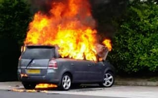 Vauxhall issues second recall after further Zafira fires