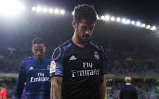 Isco takes blame for Real Madrid bench role
