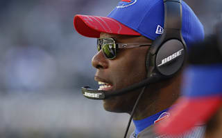 Oops: New Chargers coach Anthony Lynn forgets team moved to Los Angeles