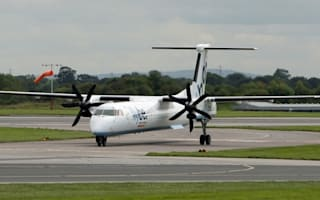 Airport luggage driver crashes into Flybe plane after heart attack