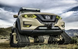Nissan shows off tracked X-Trail concept in New York