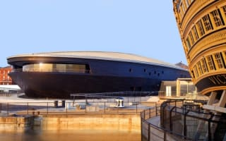 Win! A trip to Portsmouth Historic Dockyard and a stay on the Isle of Wight